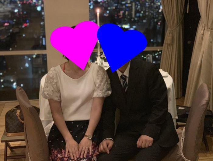 ラヴィベル会員様、プロポーズ大成功!