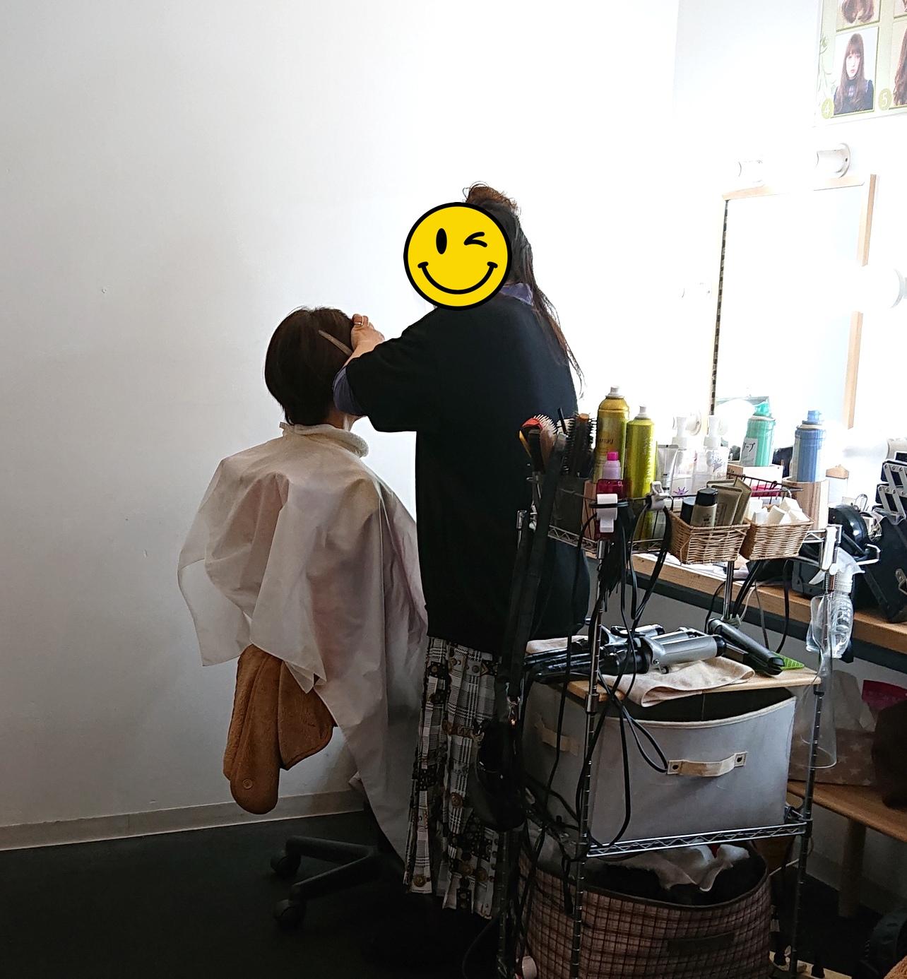 ★日常ブログ★<br>新規会員さん(50代女性)のプロフィール写真撮影へ!(なんばスターメーカースタジオさん)